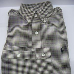 Ralph Lauren Blake Plaid Checked Shirt NWT $89.50